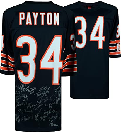 6ac4a0001e5 ... coupon code for 1985 chicago bears team signed walter payton mitchell  ness authentic jersey fanatics authentic