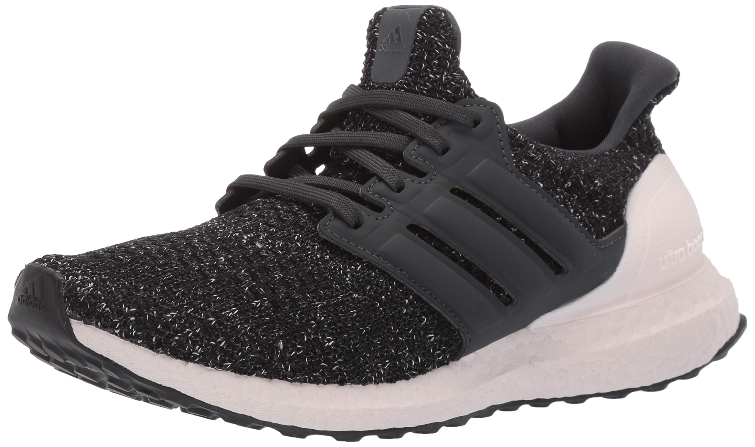 adidas Women's Ultraboost, Black/Carbon/Orchid Tint, 8 M US