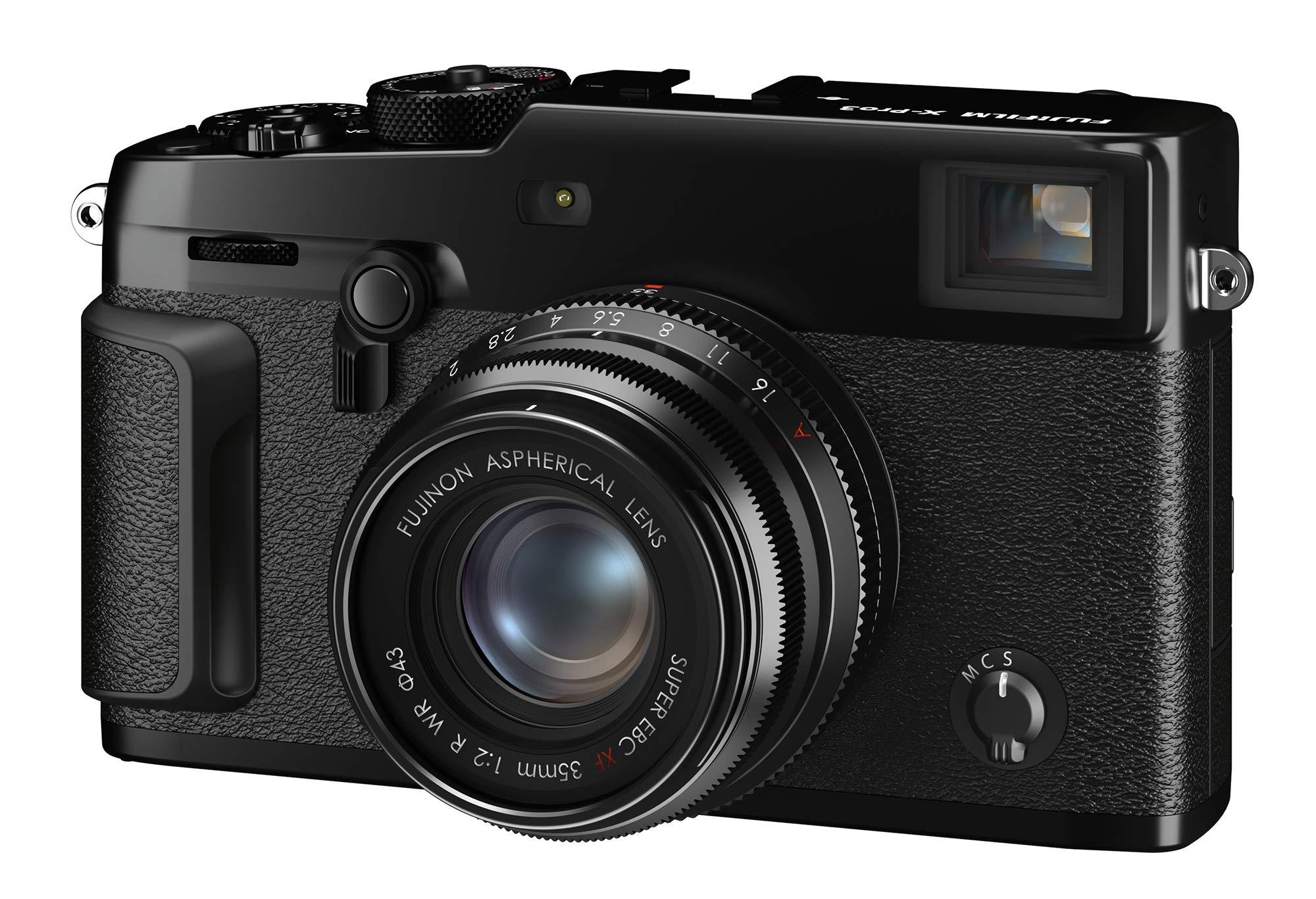 Fujifilm X-Pro3 Mirrorless Digital Camera - Black (Body Only) by Fujifilm