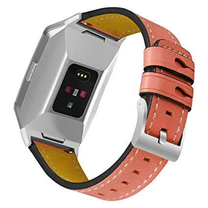 Wristwatch Bands For Fitbit Ionic Strap Replacement Band Classic Metal Buckle Wristband Accessory