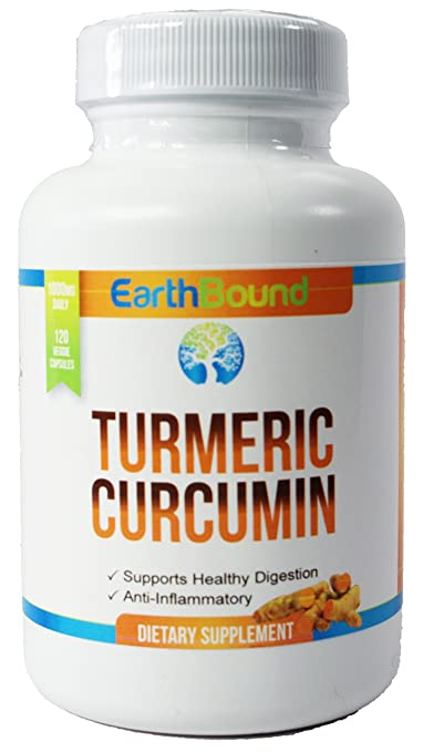 Turmeric Curcumin with C3 & BioPerine | 1000mg per Serving | 120 Vegan Capsules