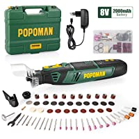 Deals on POPOMAN 8V Cordless Rotary Tool Kit w/58-Piece Accessory Kit