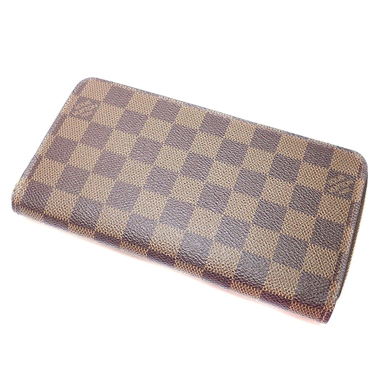 [ルイヴィトン] N60015 ジッピーウォレット 旧 長財布(小銭入れあり) ダミエキャンバス レディース B07987H6C1