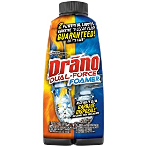 Drano Dual Force Foamer Clog Remover-17 oz.