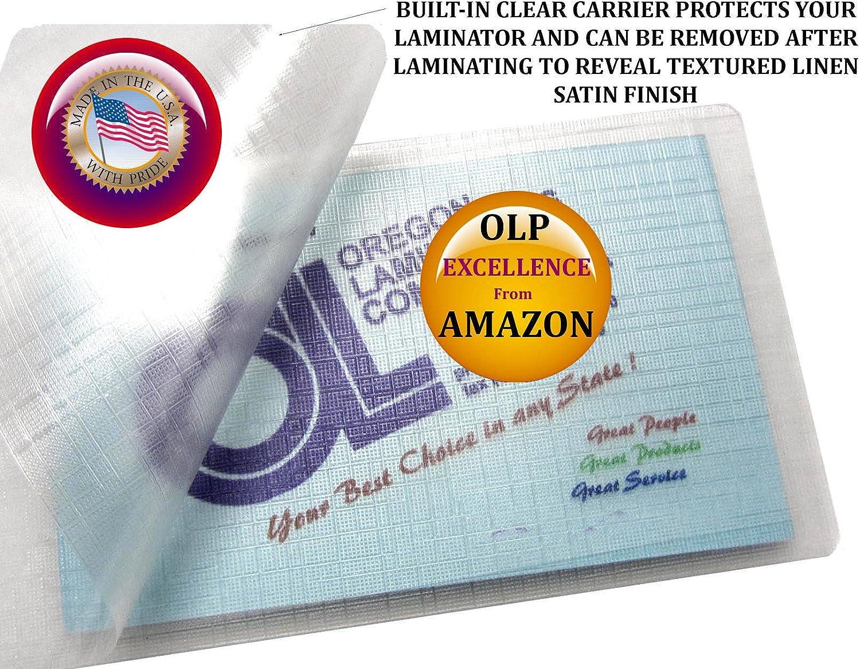 500 Bookmark Large 5 Mil Laminating Pouches Laminator Sleeves 2-3//8 x 8-1//2