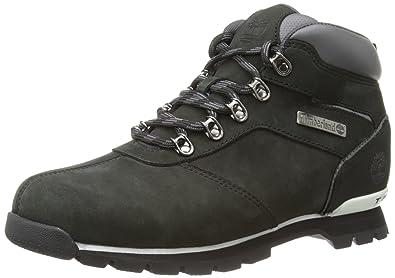 Timberland SPLITROCK 2 HIKER BL BLACK C6359A Herren Chukka Boots, Schwarz  (BLACK),