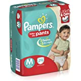 Pampers Medium Size Diaper Pants (20 Count)