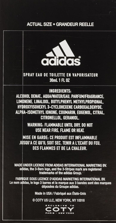 najlepszy hurtownik buty do biegania najlepsza obsługa Moves 0:01 Eau-De-Toilette Spray by Adidas, 1 Fluid Ounce