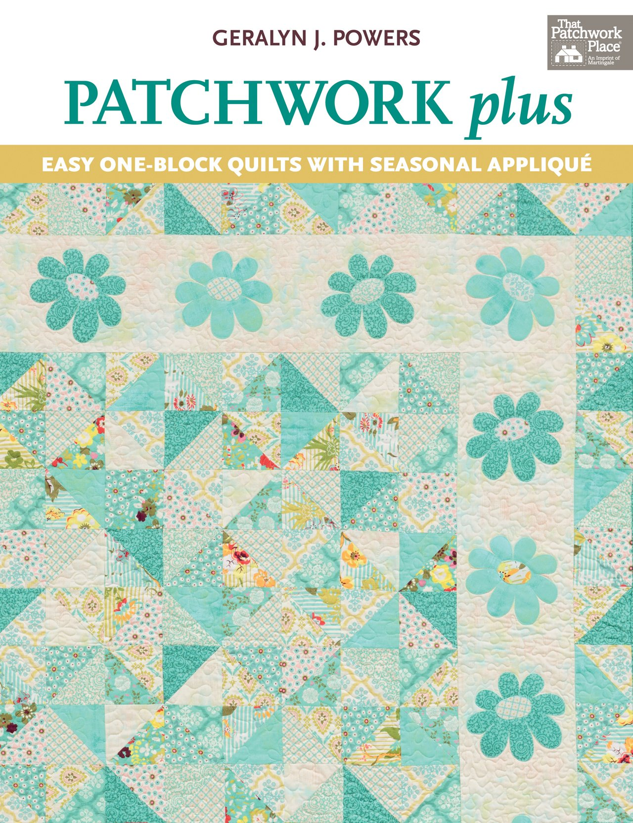 Read Online Patchwork Plus: Easy One-Block Quilts with Seasonal Applique pdf epub