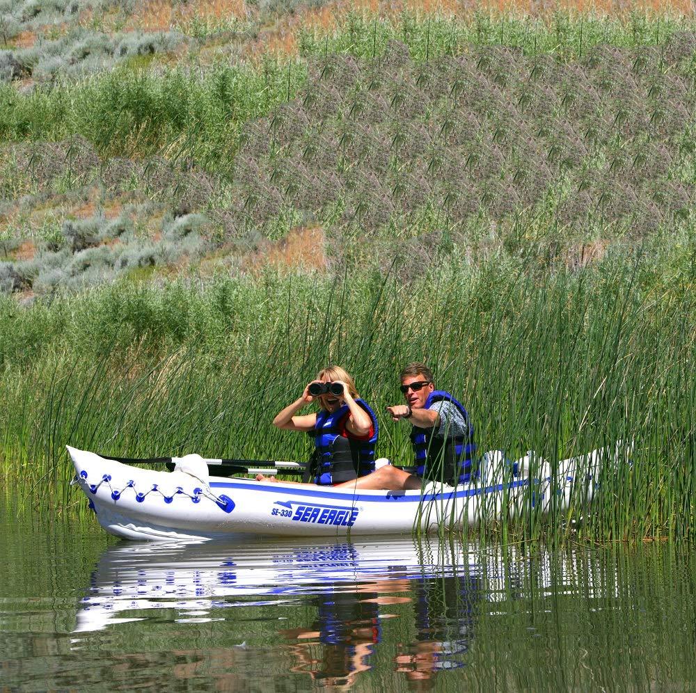 Amazon.com: Sea Eagle, 330, kayak inflable con empaque pro ...