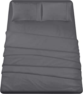 Utopia Bedding 3-Piece Twin XL Bed Sheets Set (Grey)