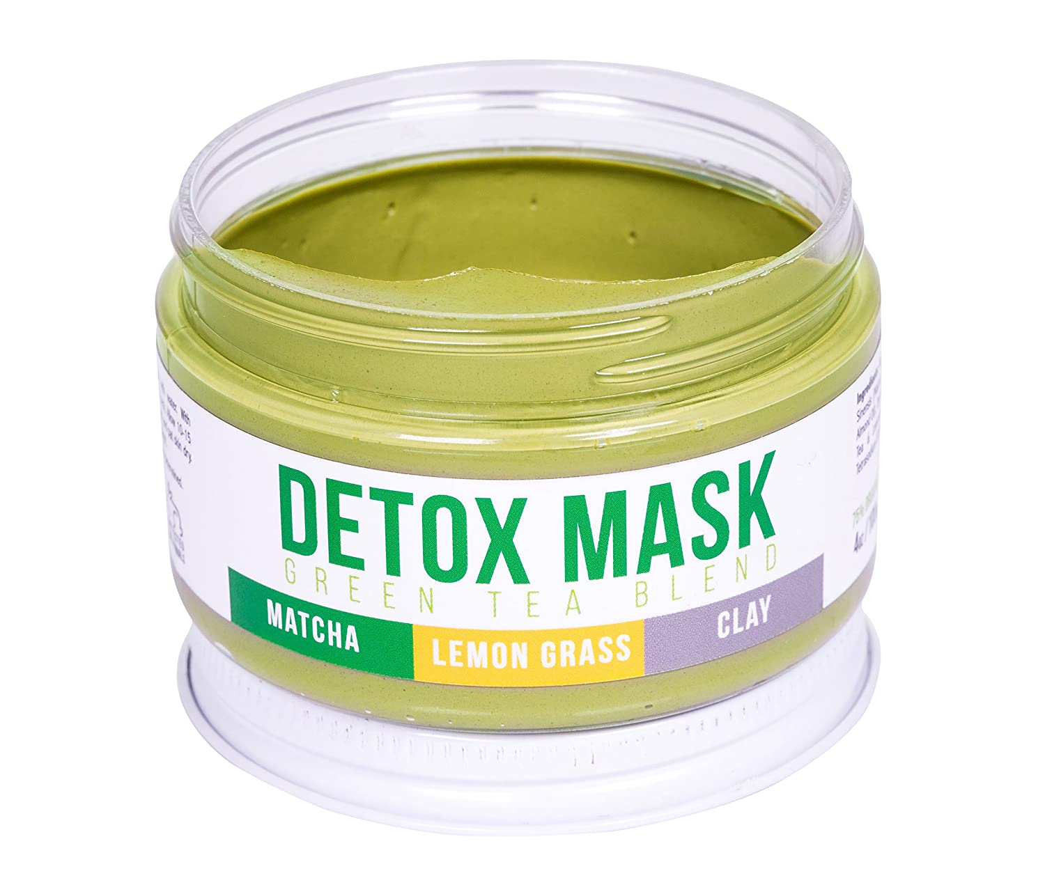 GREEN TEA DETOX FACE MASK By Teami | Our 100% Best Facial Care Mud Masks with Bentonite Clay for a Natural Hydrating Cleanse of Dry Skin that Removes Blemishes | Antioxidant Moisturizing Anti-aging Teami Blends