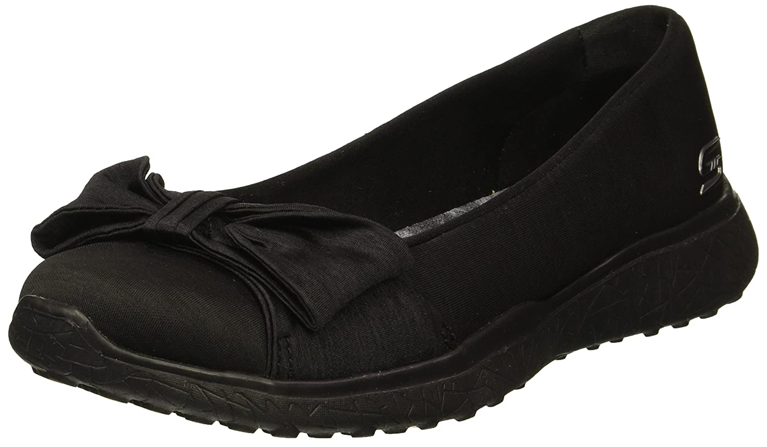 Skechers Women's Microburst-Be-You-Tiful Sneaker B078YSDF7X 5.5 B(M) US|Black
