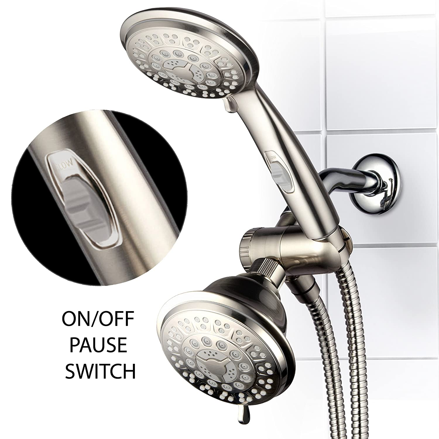 HotelSpa 42-setting Ultra-Luxury 3-way Combo with ON/OFF Pause ...