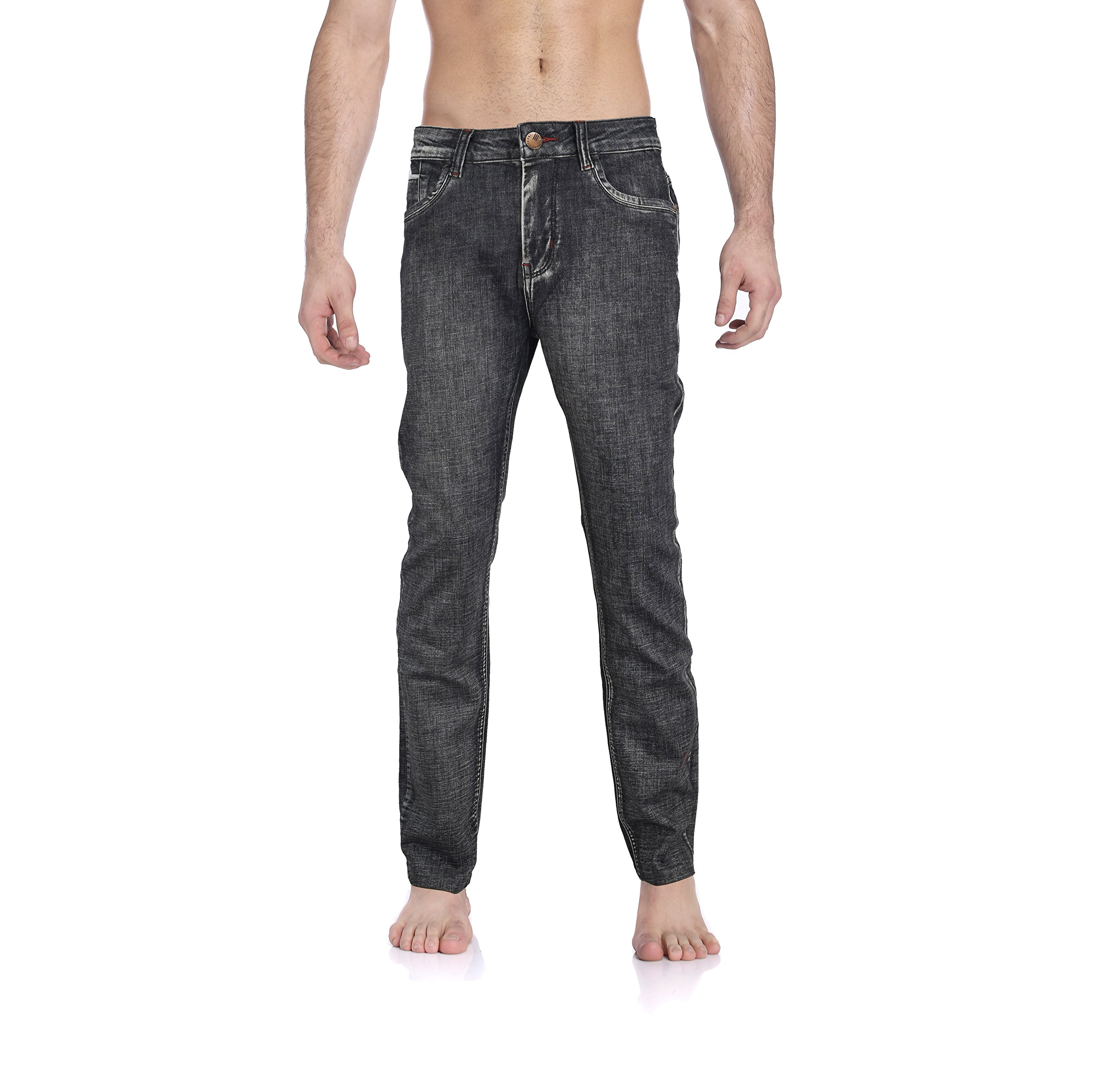 Tusalmo Jeans For Men From Professional Jeans Factory, 20 Production Experience. (31, Black-6689#)