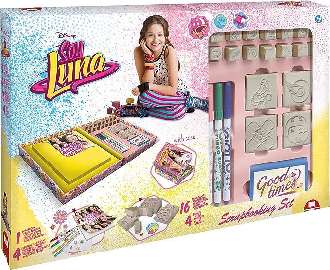 Multiprint Soy Luna - Juegos de Sellos para niños (Multicolor, Caucho, Madera, 3 año(s), Italia, 420 mm, 85 mm): Amazon.es: Juguetes y juegos