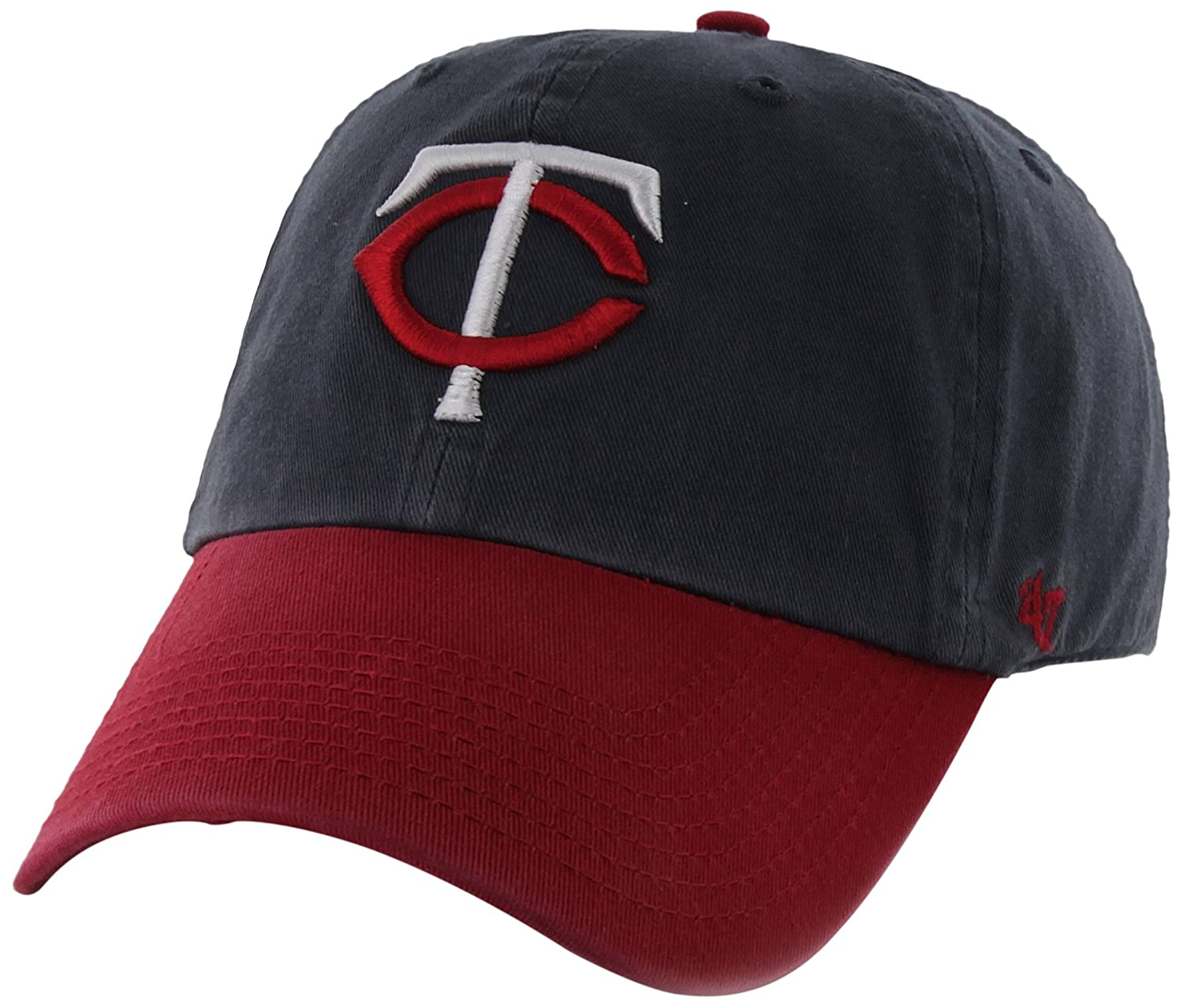 MLB Minnesota Twins Clean Up Adjustable Hat One Size Navy