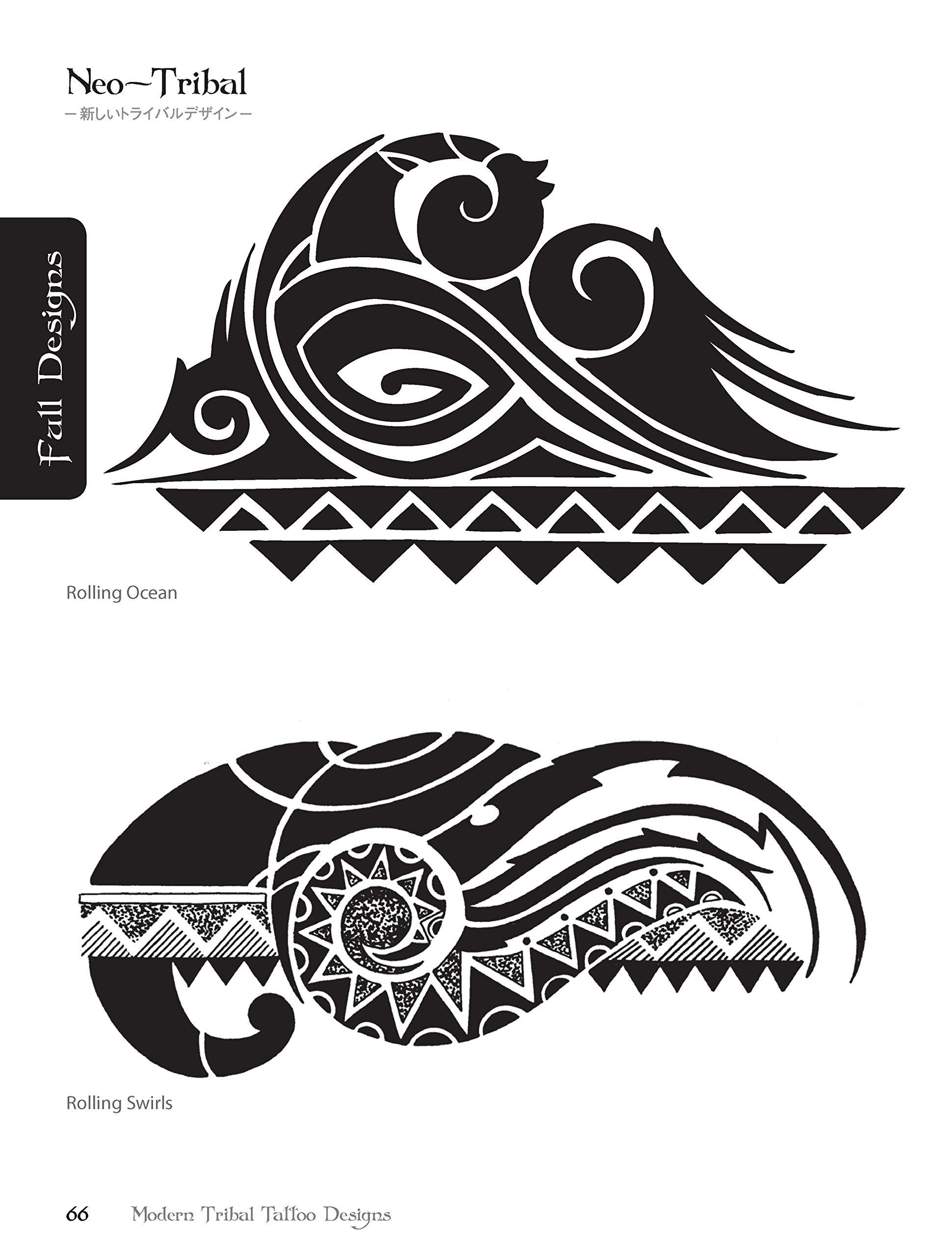 f436423726de7 Buy Modern Tribal Tattoo Designs Book Online at Low Prices in India | Modern  Tribal Tattoo Designs Reviews & Ratings - Amazon.in