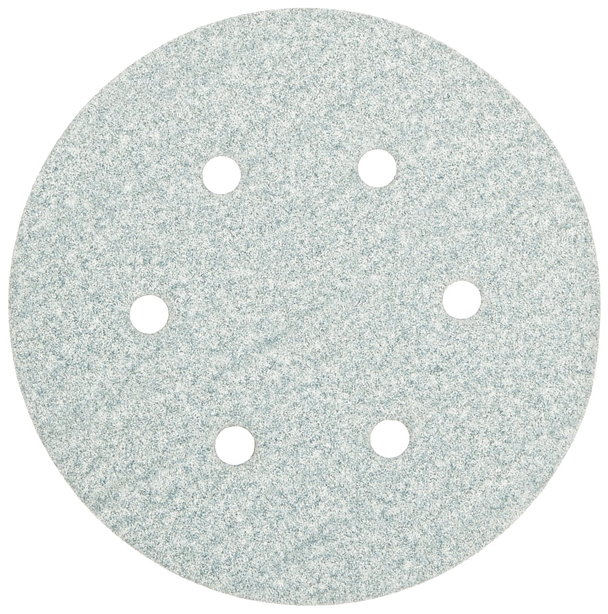 "Norton 3X High Performance Hook and Sand Paper Discs with 6 Hole, Ceramic Alumina, 6"" Diameter, Grit P100 Medium (Pack of 10)"
