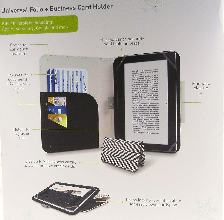 Amazon.com: Puregear 10 inch Tablet Case universal folio and ...