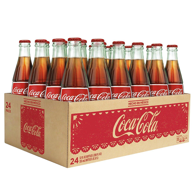 Mexican Coke - Drink Coca Cola -12 Oz. (24 Pack)