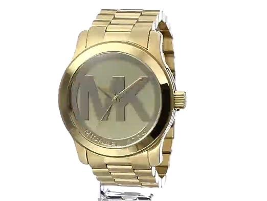 021d2300a5a5 Amazon.com  Michael Kors Women s Runway Gold-Tone Watch MK5473  Michael Kors   Watches