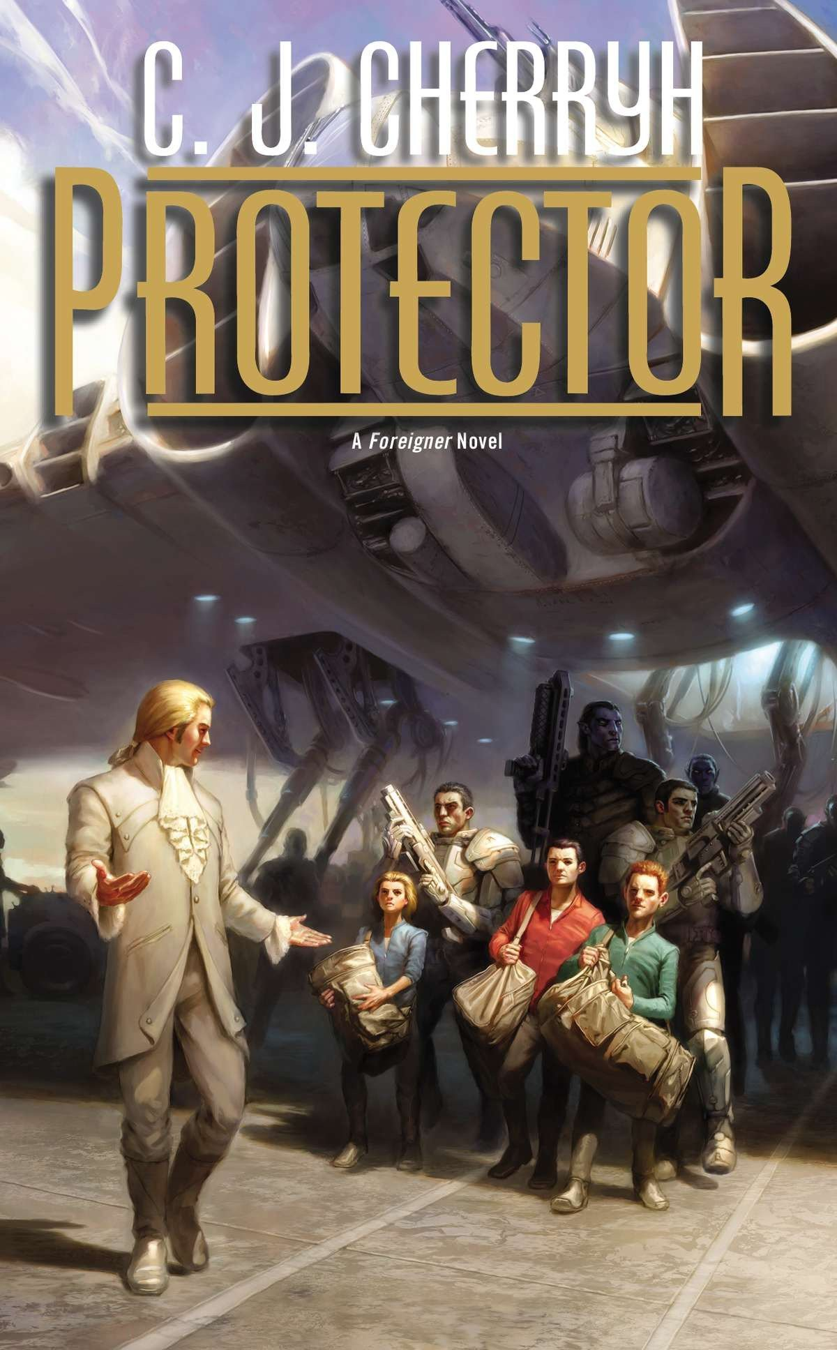 Read Online Protector (Foreigner) pdf epub