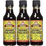 Bragg Coconut Aminos, All Purpose Seasoning, 10 Oz Pack of Three