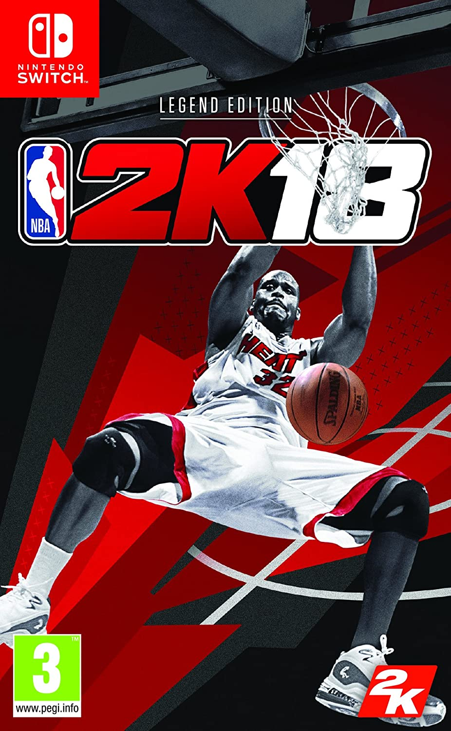 NBA 2K18 (Legend) - Special Limited - Nintendo Switch [Importación ...