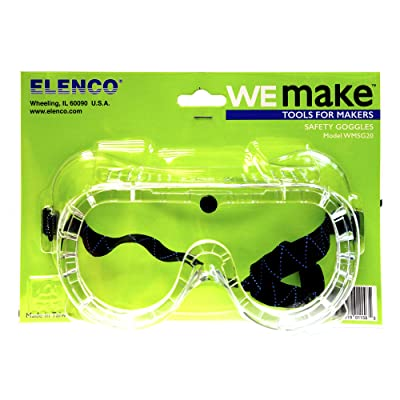 S.T.E.A.M. Line Toys Elenco WeMake Safety Goggles: Toys & Games