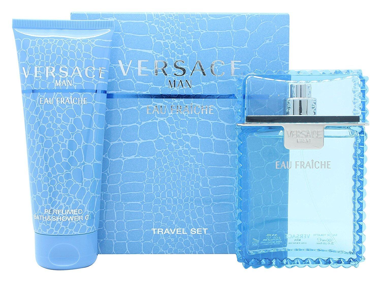 Versace Eau Fraiche 2 Pcs Set For Men: 3.4 Sp (travel Set)