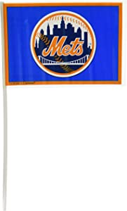 amscan New York Mets Major League Baseball Collection Plastic Flags, Party Decoration, 144 Ct.