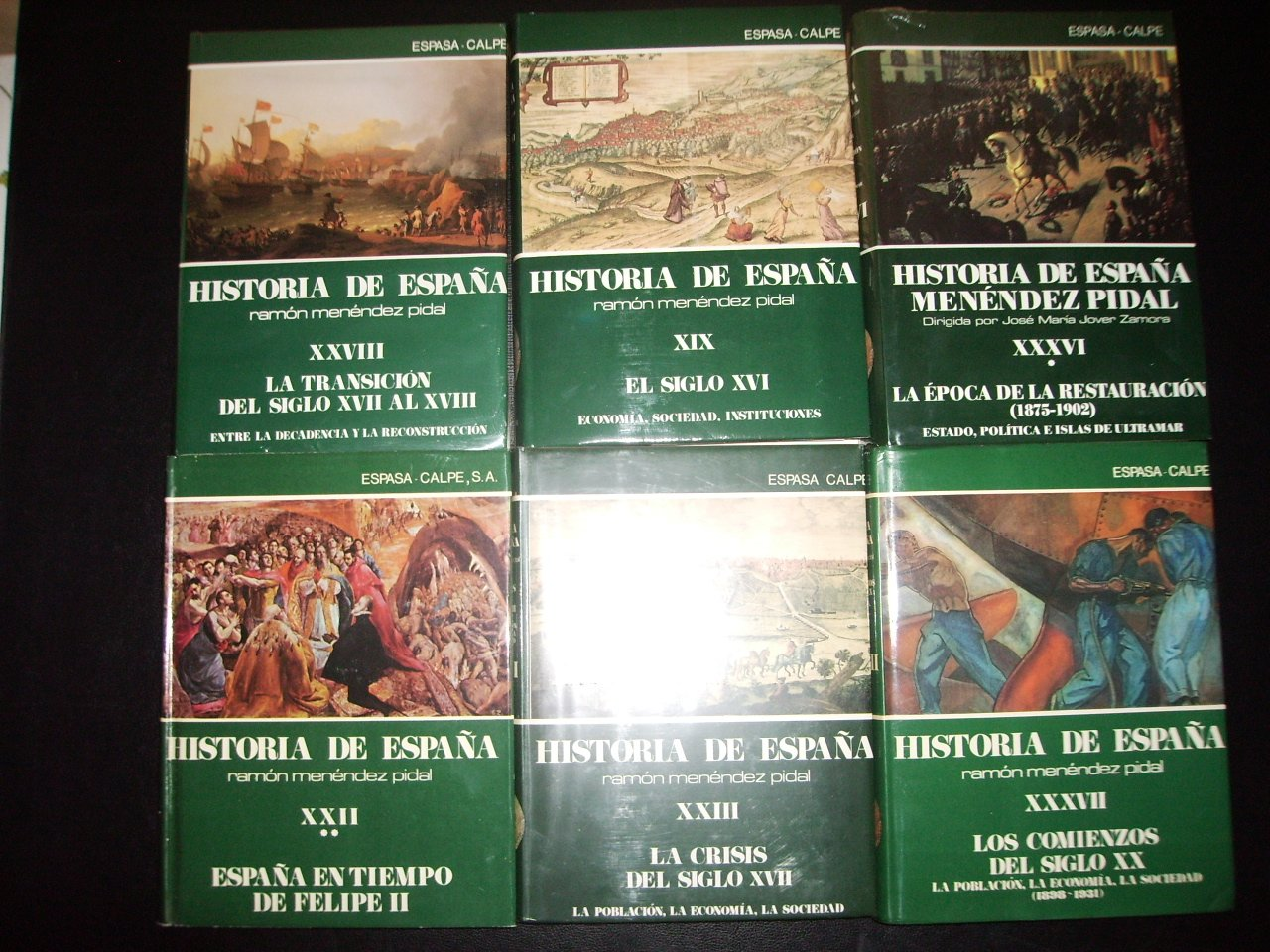 Historia de España: Amazon.es: Menéndez Pidal: Libros