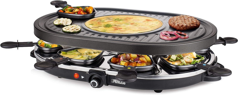 Top 5 mejores Raclette Grill Princess. Comparativa y opiniones. 2