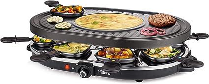 Princess Grill e Party raclette per fino a 4 persone-con 4 pfännchen