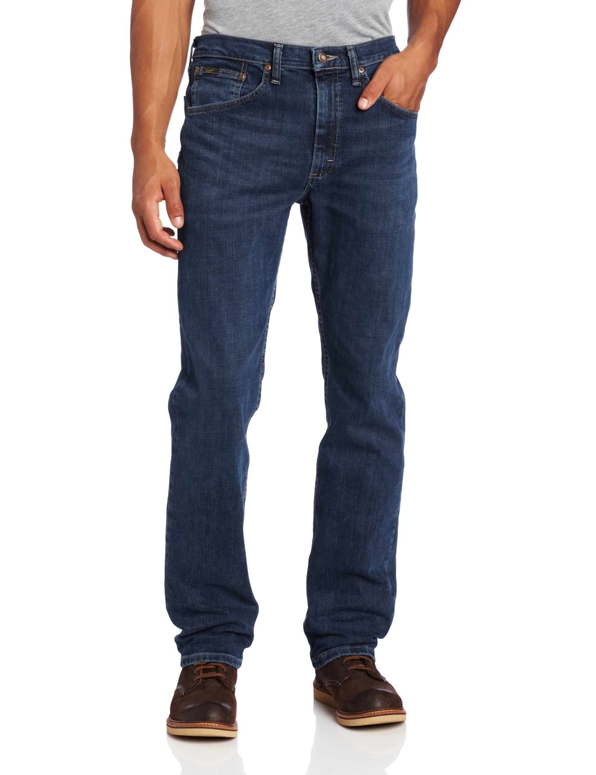 LEE Men's Premium Select Classic Fit Straight Leg Jean, Boss, 32W x 30L