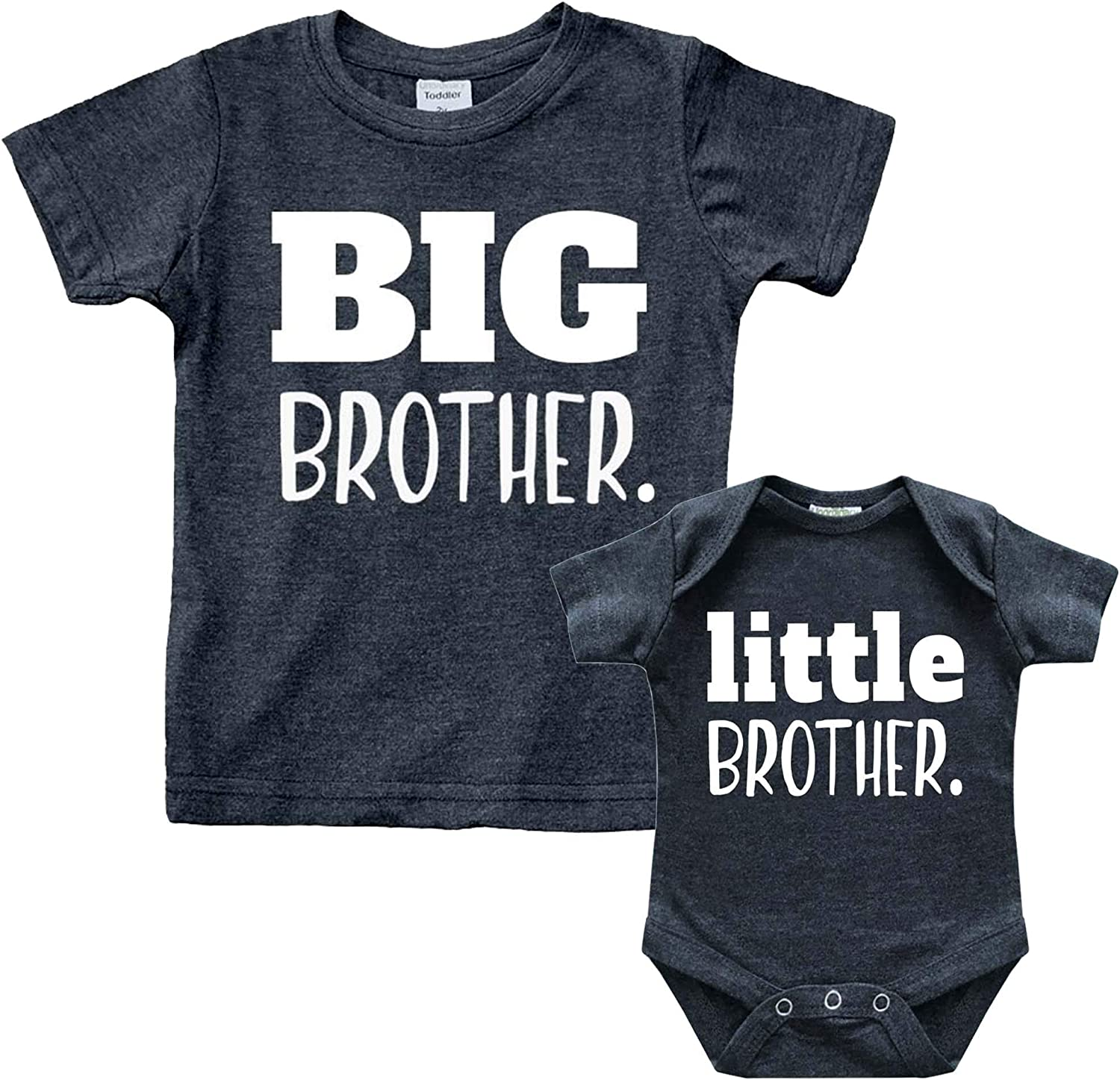 Brother Sister Little Brother Shirt Big Sister Little Brother Coordinating Sibling Outfits Big Brother Little Brother Set Newborn Boy