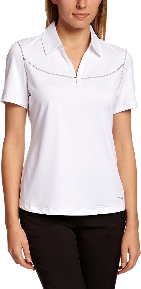 Cortador de Buck Mujeres CB Drytec Manga Corta Camisas de Polo ...