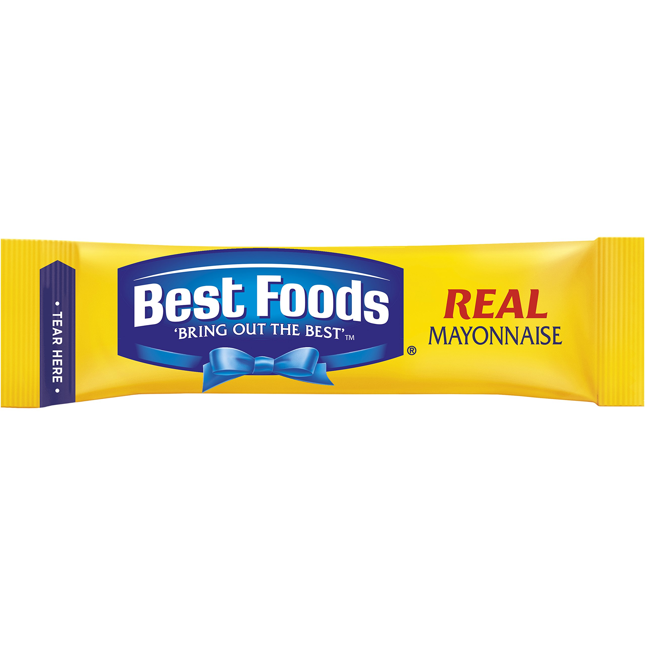 Best Foods Real Mayonnaise, To Go, 10 ct, Pack of 6