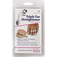 PediFix Triple Toe Straightener, Left Foot
