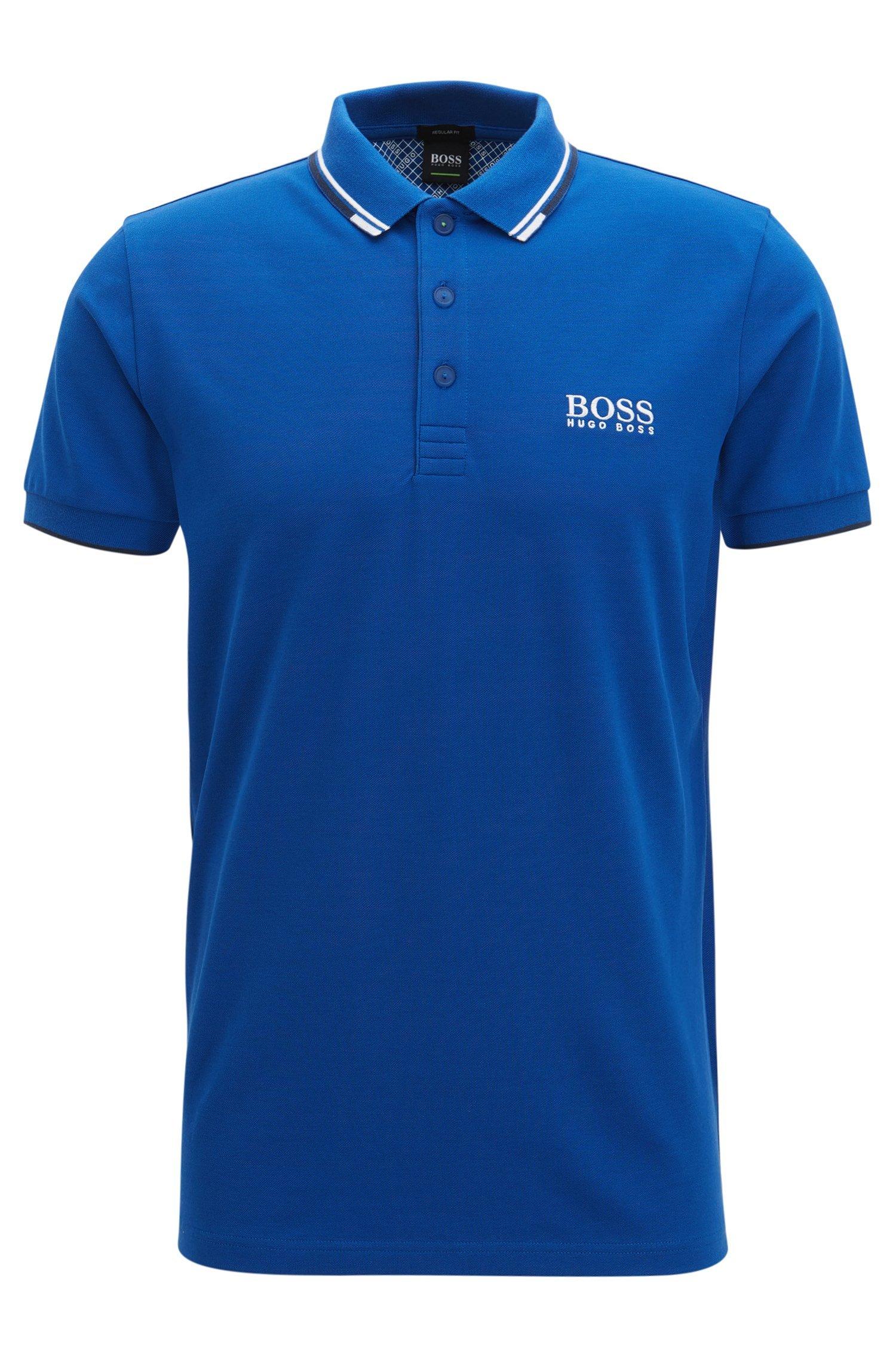 Hugo Boss Men's Polo Shirt (M, Blue)