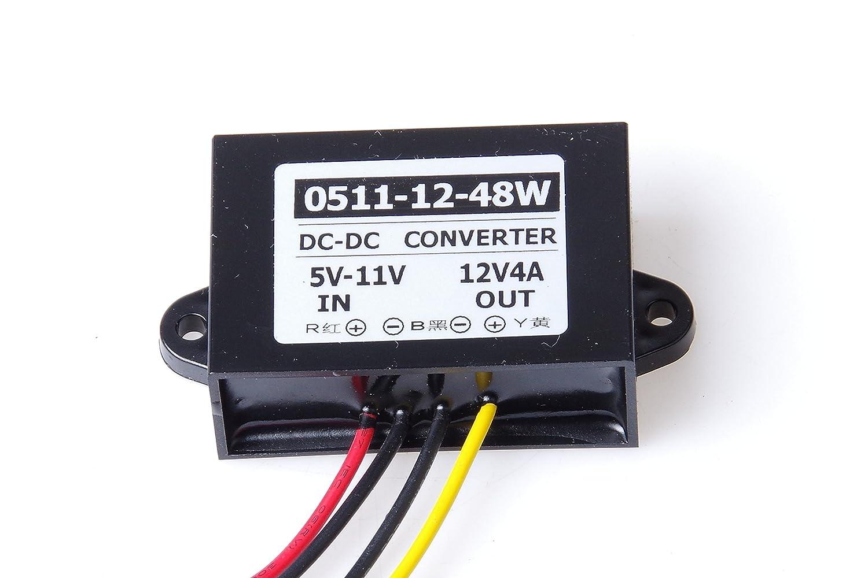 Knacro 6v 9v 5 11v Step Up To 12v 4a Boost Converter Dc Tda2003 Voltage Waterproof 3a Power Supply Regulator Transformer Module