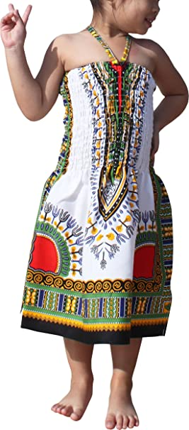 Amazon.com: raanpahmuang marca vestido halter Dashiki Correa ...
