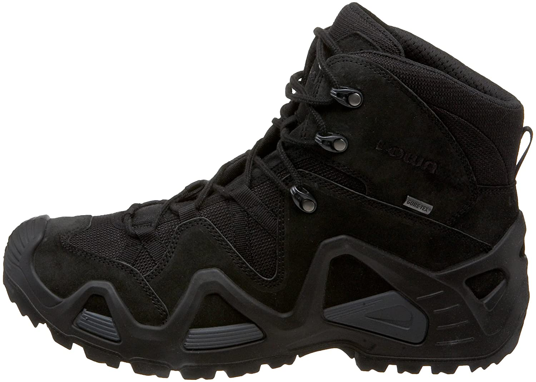 8261dc8edb5 Lowa Men's Zephyr GTX Mid TF Hiking Boot, Black, 8 M US: Amazon.co ...
