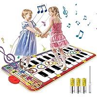 Vimzone Alfombrilla Musical para Piano, Alfombrilla para Piano para niños, Teclado táctil, alfombras Musicales…