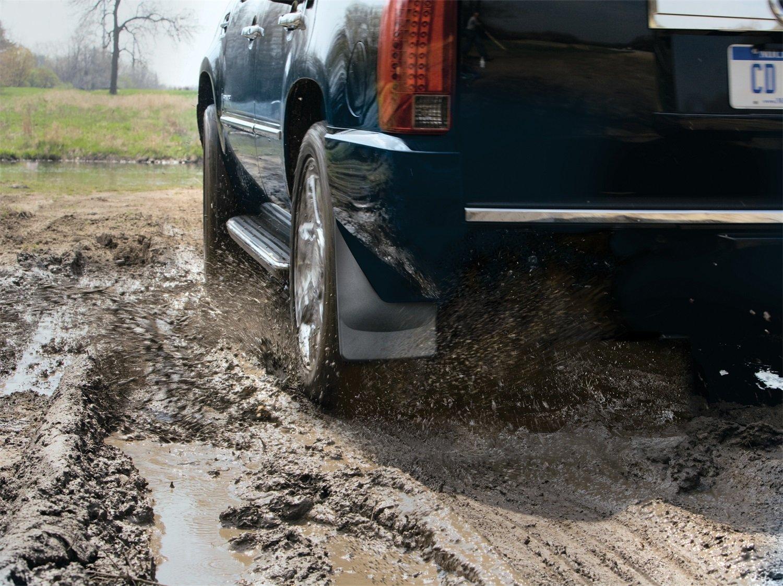 Black WeatherTech 120036 Mud Flap