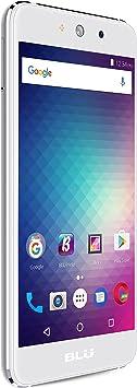 BLU Grand M -Smartphone Libre Doble SIM -Plata: Amazon.es ...