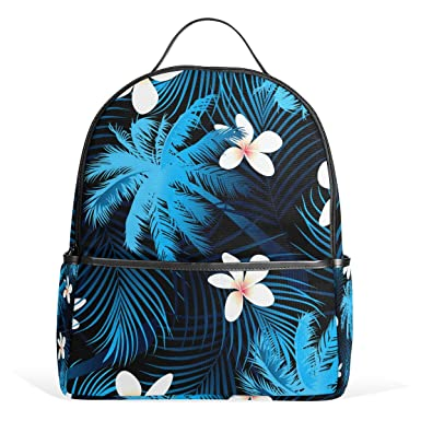 50df211ee2 Image Unavailable. Image not available for. Color  School Backpack for Boys Girls  Tropical ...