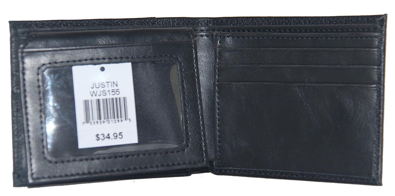 Custom Masonic Past Master Bi-fold Wallet Hair on Hide Black
