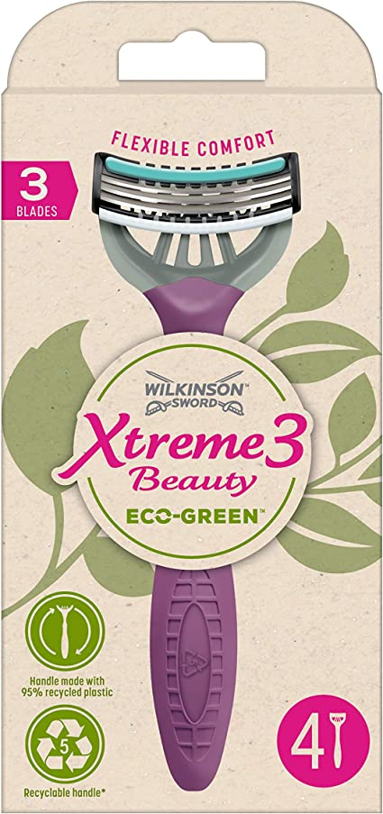 Wilkinson Sword Xtreme 3 Beauty Eco Green X 4 - Maquinilla de ...